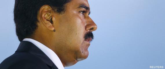 FLASH!!! Nicolas Maduro vainqueur selon les premiers sondages à la sortie des ur R-PRESIDENTIELLE-VENEZUELA-large570