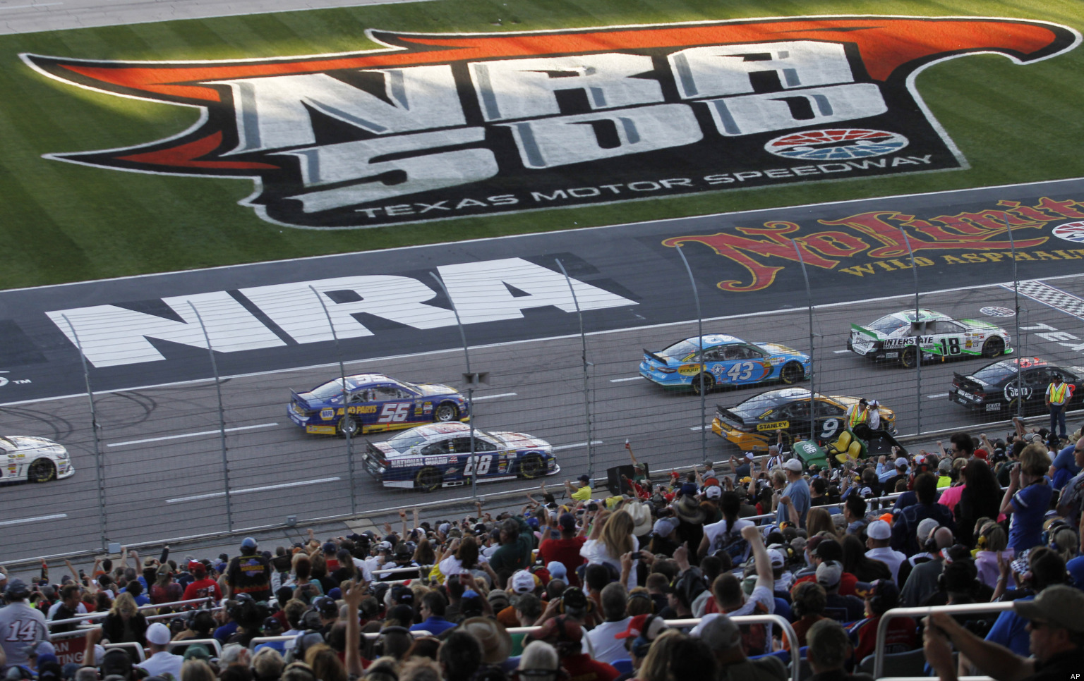 Man Shoots Himself To Death At NRA-Sponsored NASCAR Race