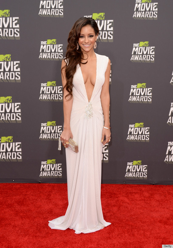 Melanie Iglesias Mtv Movie Awards Dress Is An Eyeful
