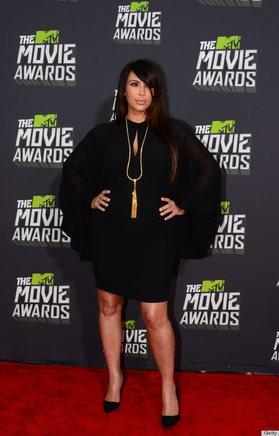 kim kardashian mtv movie awards