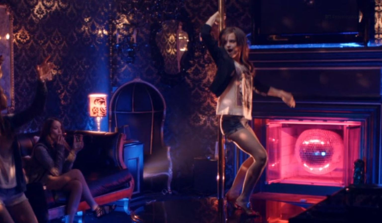 Emma watson pole dancing video from the bling ring 3