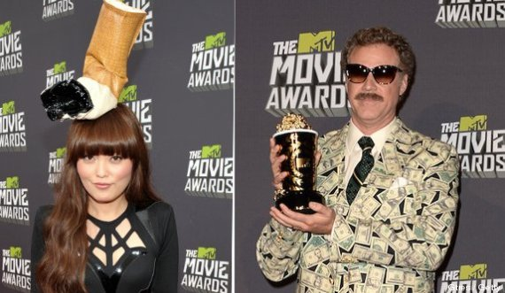 fotos mtv movie awards