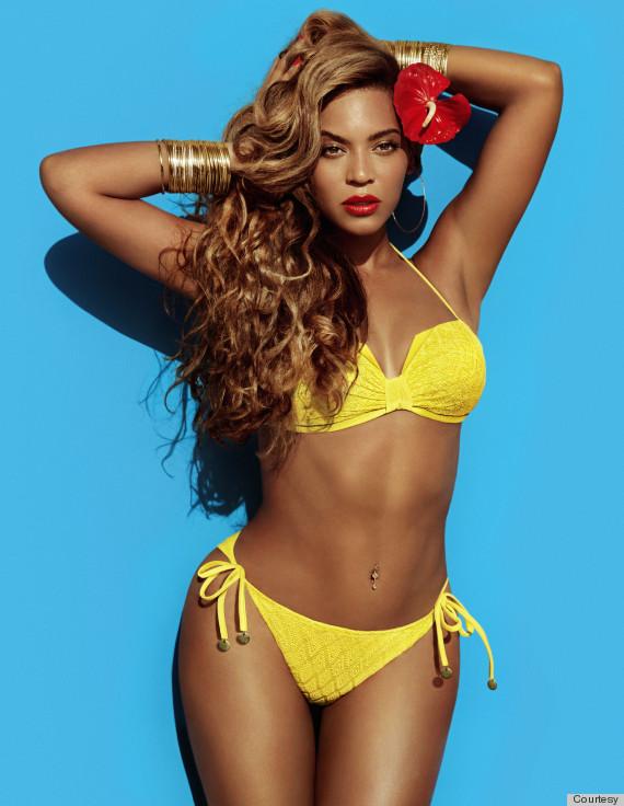 beyonce hm bikini