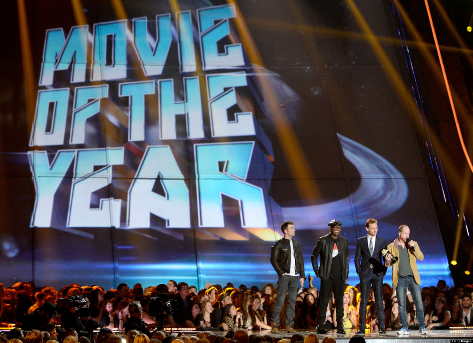 'Avengers' Cleans Up At MTV Movie Awards