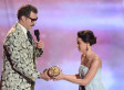 Aubrey Plaza Ejected From MTV Movie Awards After Crashing Will Ferrell Acceptance Speech; 'The To-Do List' Pulls Kanye? (VIDEO)
