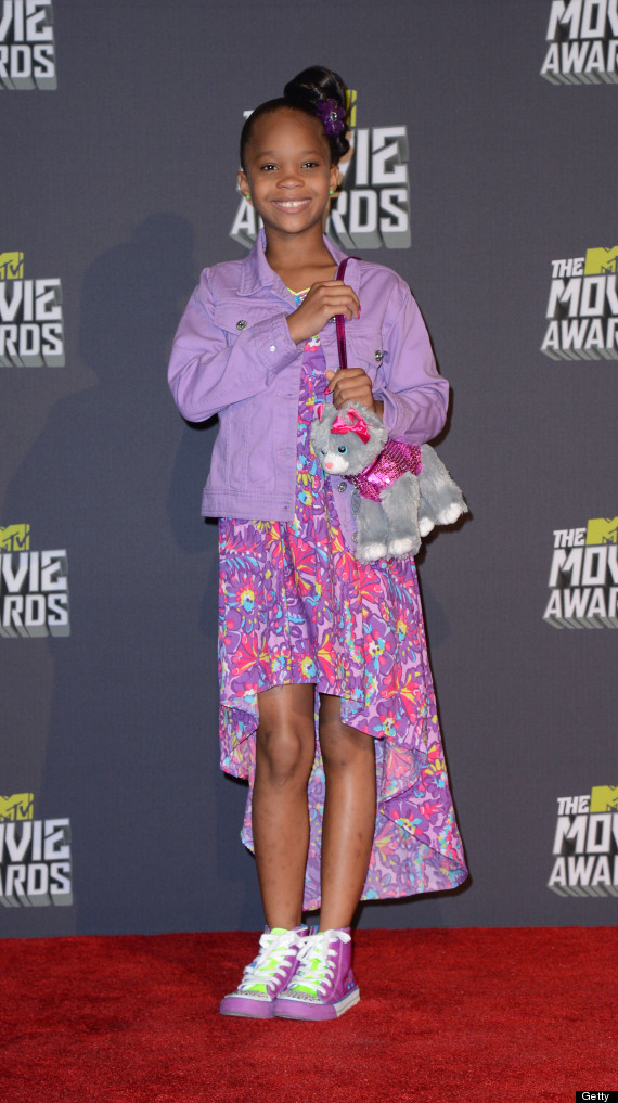 quvenzhané wallis mtv movie awards