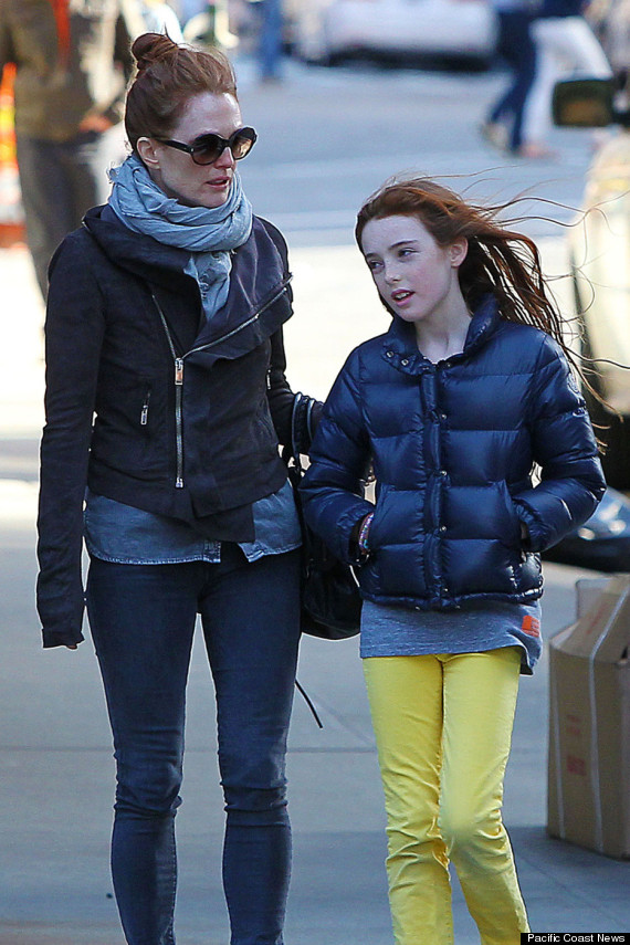 Julianne Moore's Daughter Liv Helen Is Her Spitting Image