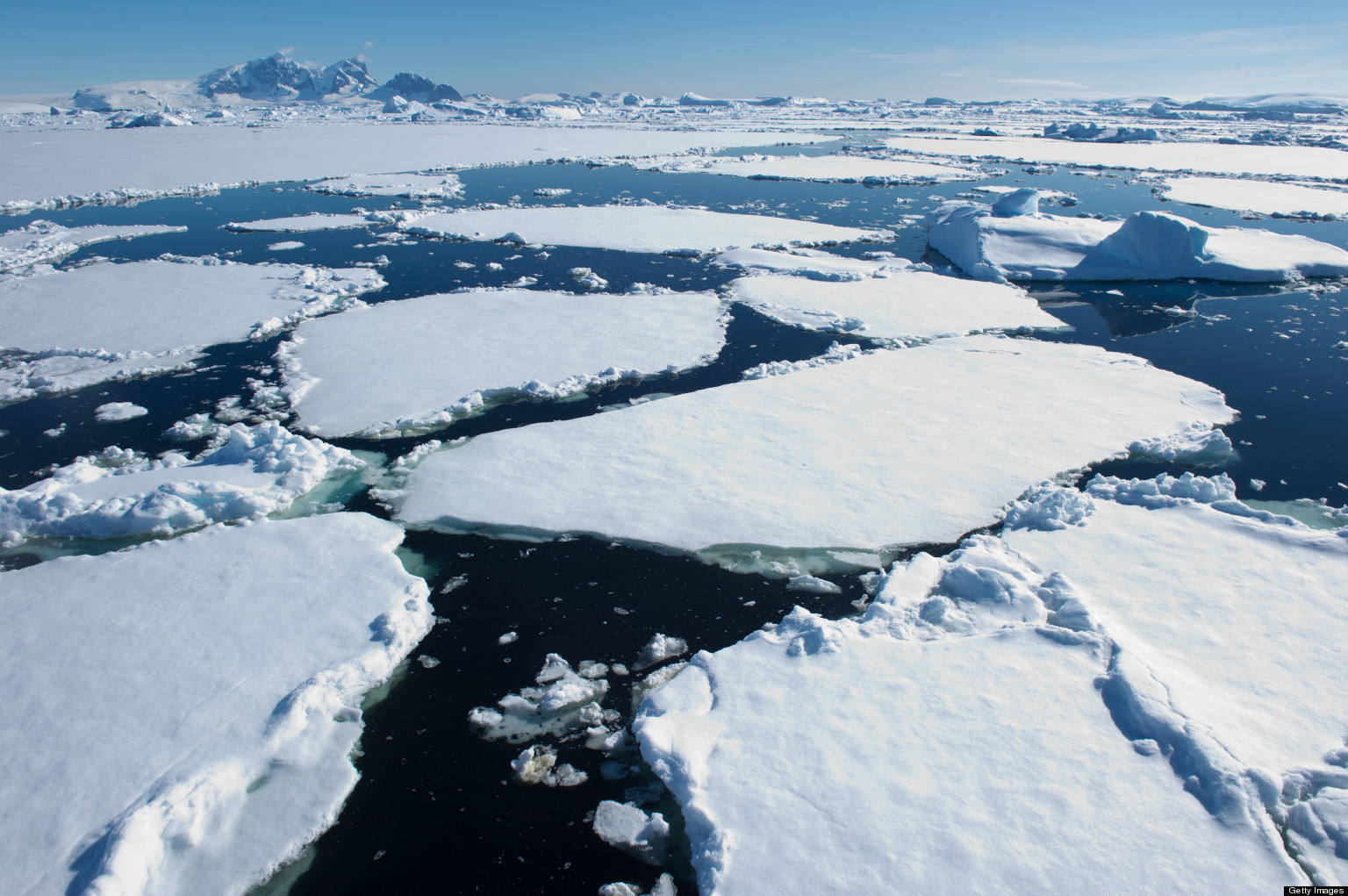 is melting ice in antarctica really bad for the