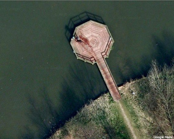 omicidio google maps