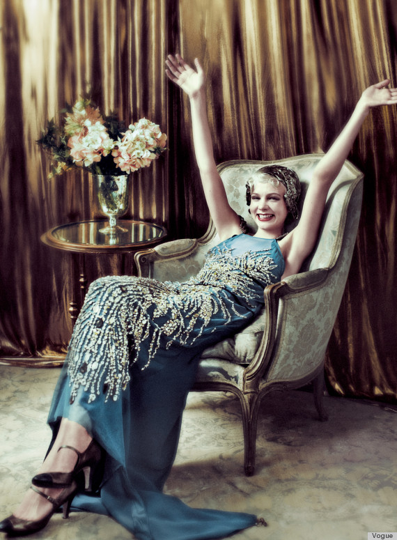 carey mulligan vogue