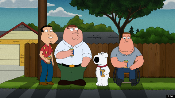 king of the hill family guy