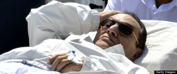 HOSNI MUBARAK WILL STAY IN DETENTION