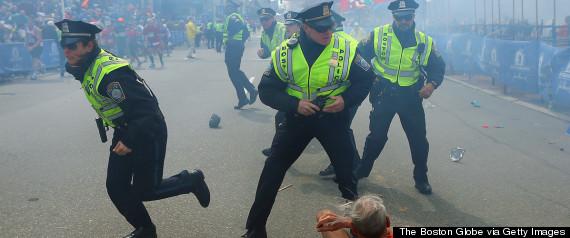 BOSTON MARATHON EXPLOSIONS PHOTOS