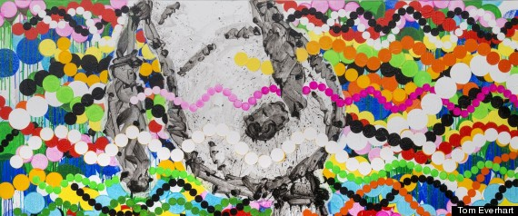 Tom Everhart Peanuts Art