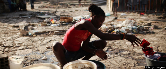 HAITI EARTHQUAKE DISPLACED