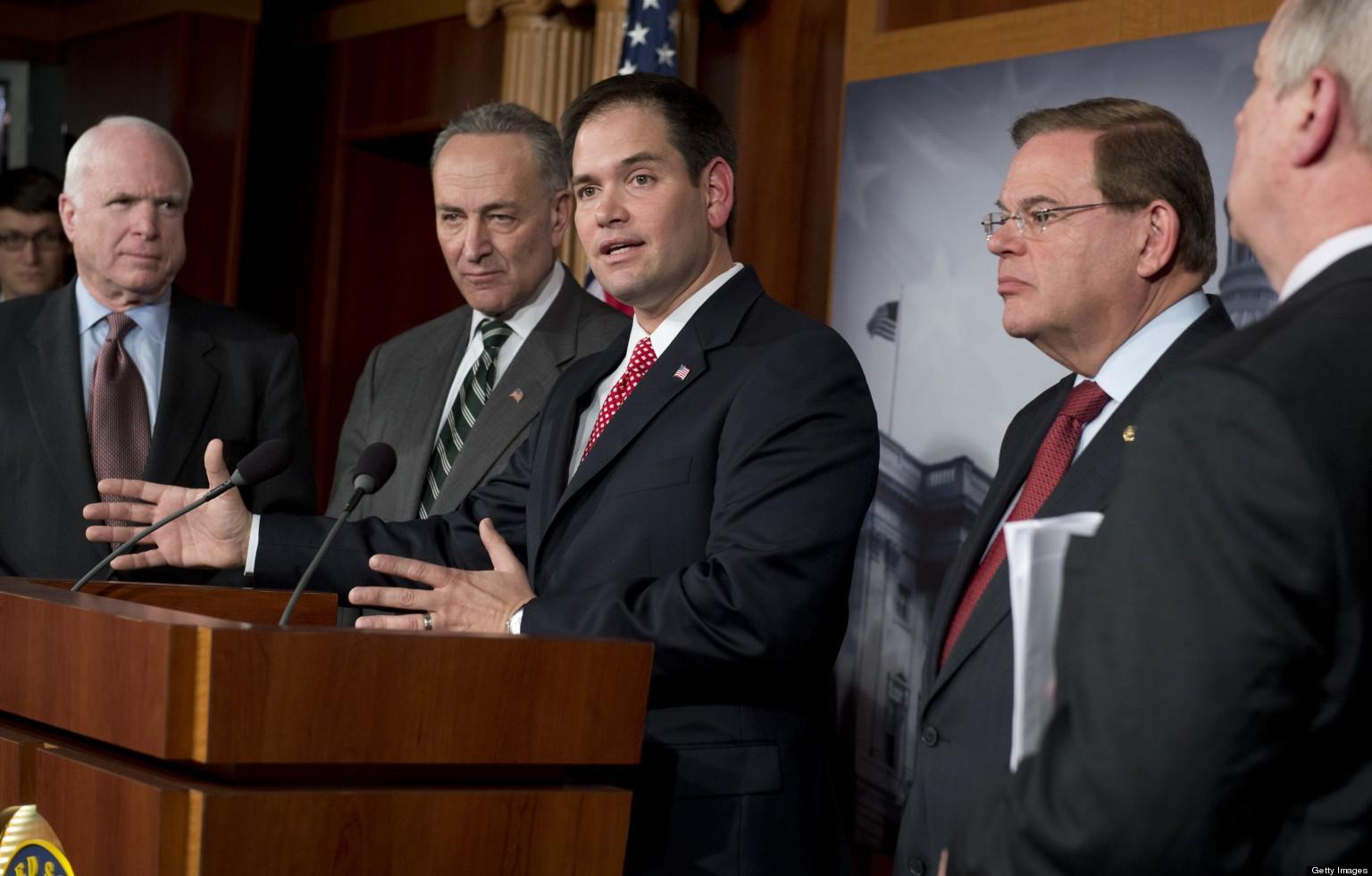 Senators' Immigration Plan Offers Path To Citizenship