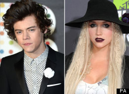 Harry And Ke$ha Texting?!