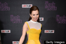 Anna Friel Is The Belle Of The Ball At The Look Of Love Premiere