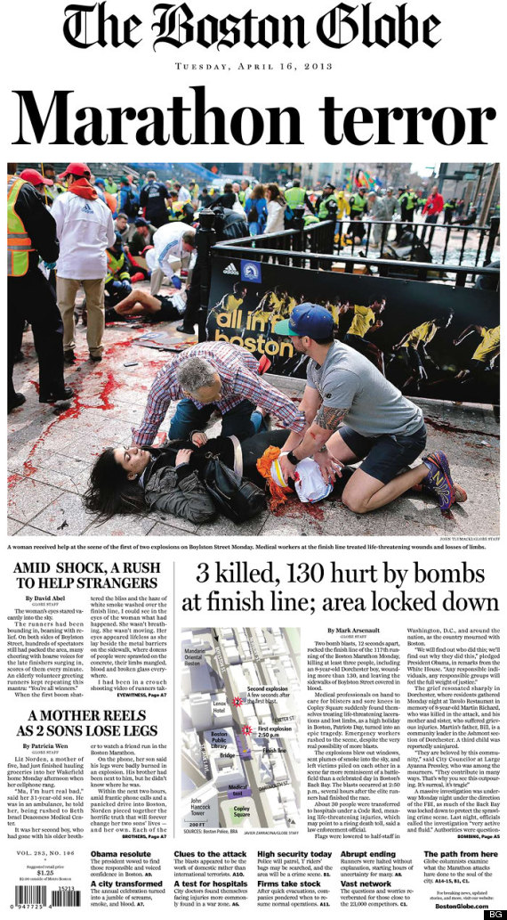 boston explosion coverage