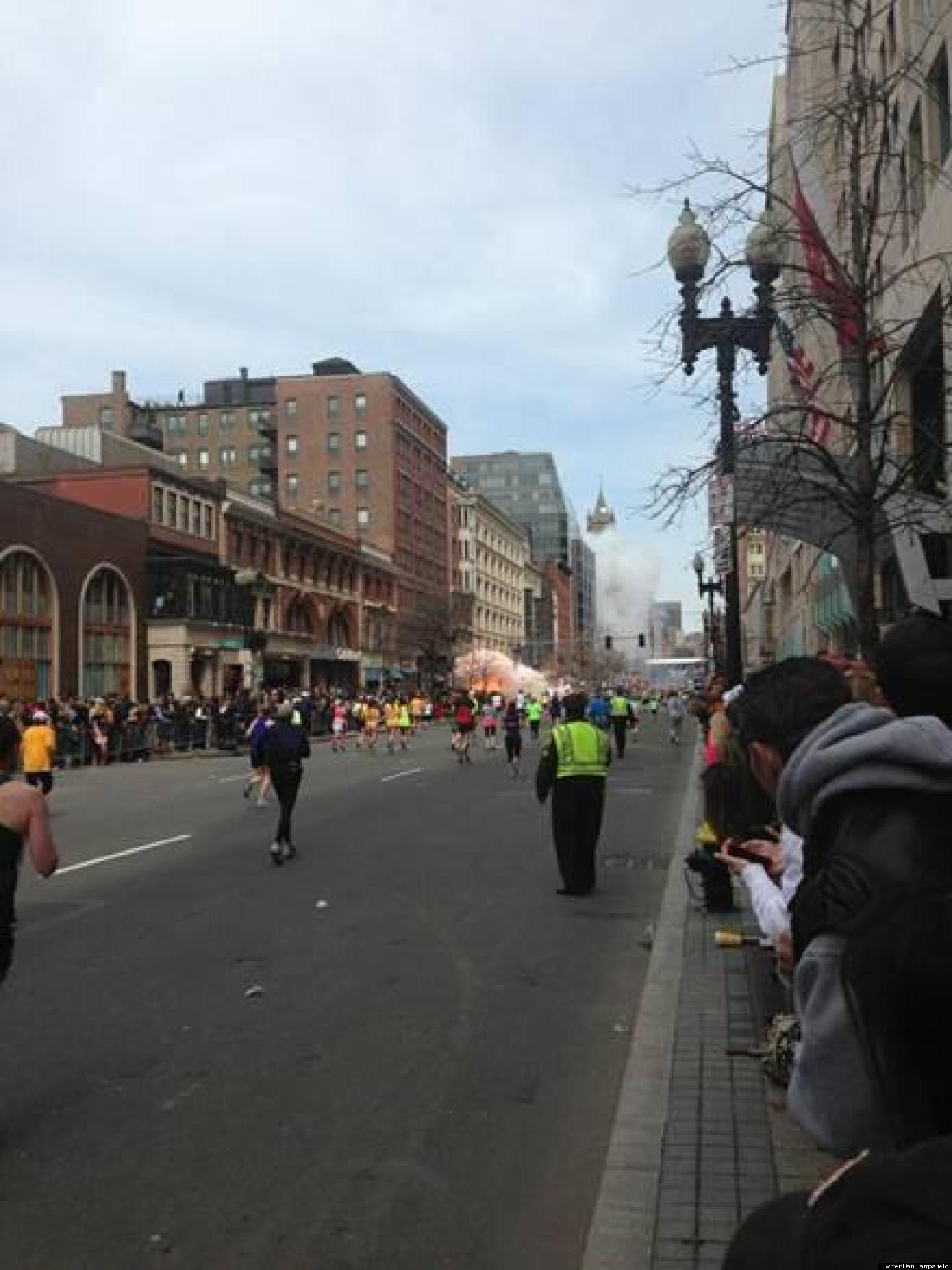 Photo Of A Mystery Man On Roof During Boston Bombings Goes Viral