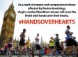 London Marathon Runners Urged By Spat To Run 'Hand Over Hearts' For Boston Bombings