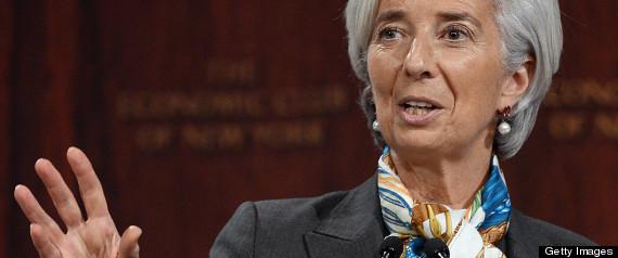IMF CANADA CHRISTINE LAGARDE