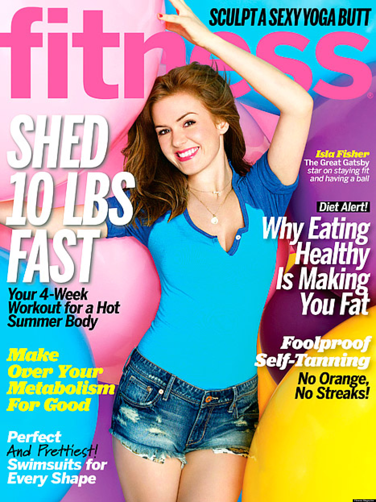 Isla Fisher Talks Weight Loss: Actress Reveals How She