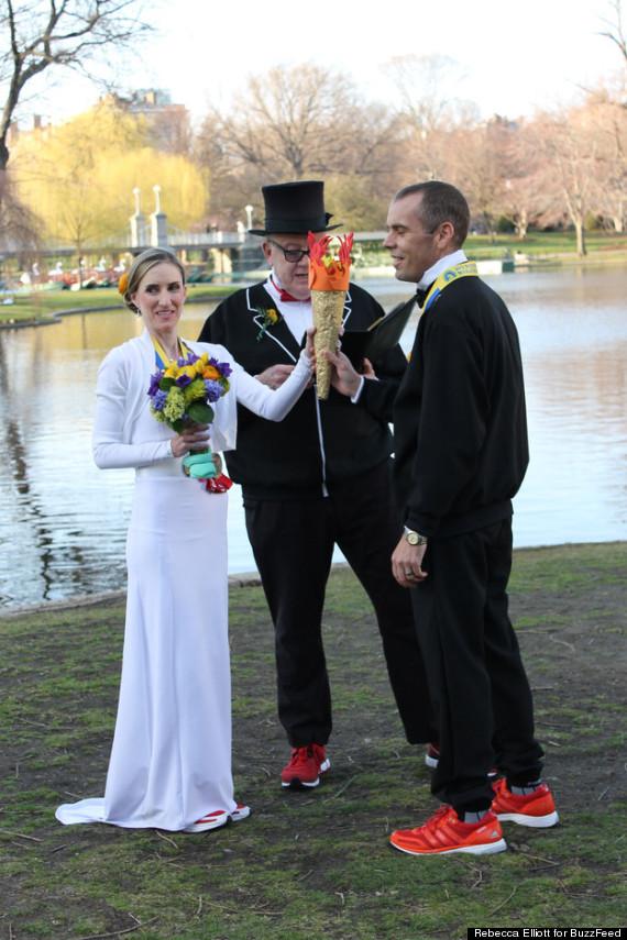 couple marries boston explosions