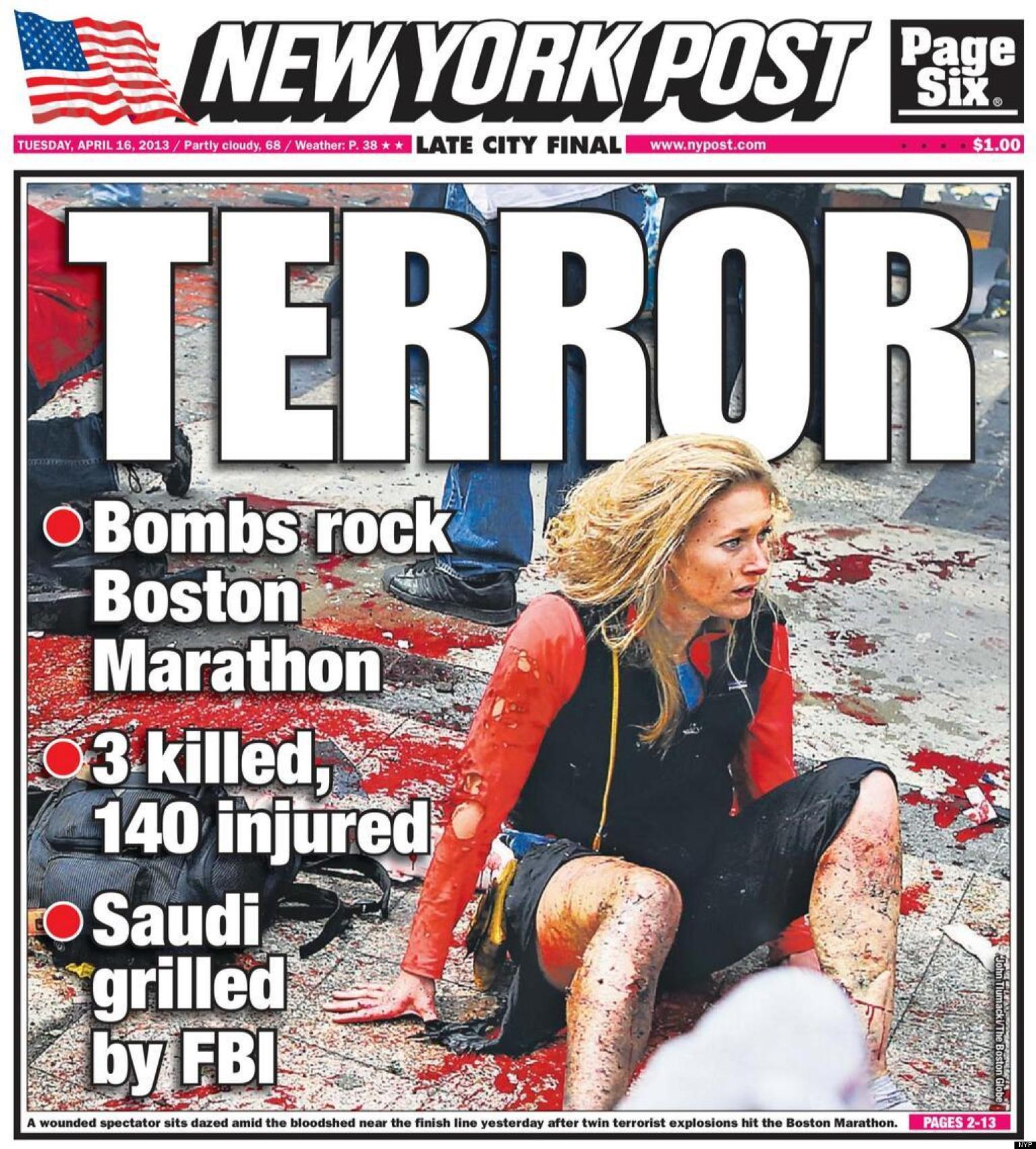 At Least Seven Students Injured Two Suspects In Custody: 2 Bombs Explode At Boston Marathon-terrorist Attack?
