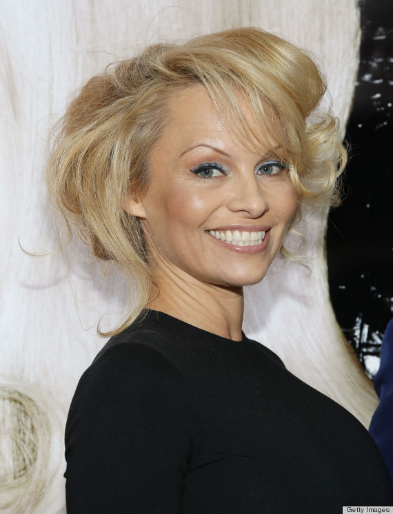Pamela Anderson Goes Glam At The International Beauty Show (PHOTOS ... Pamela Anderson