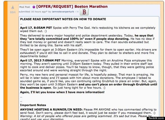 pizza boston marathon