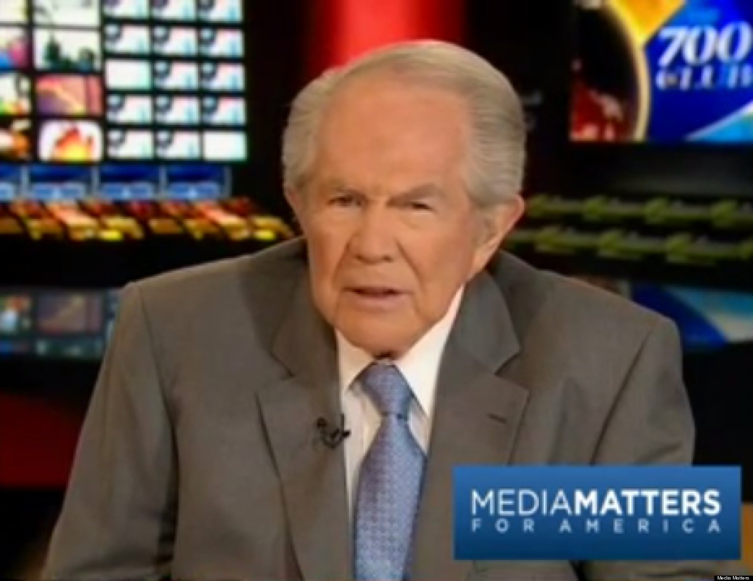 Pat Robertson Links Religion To Boston Tragedy