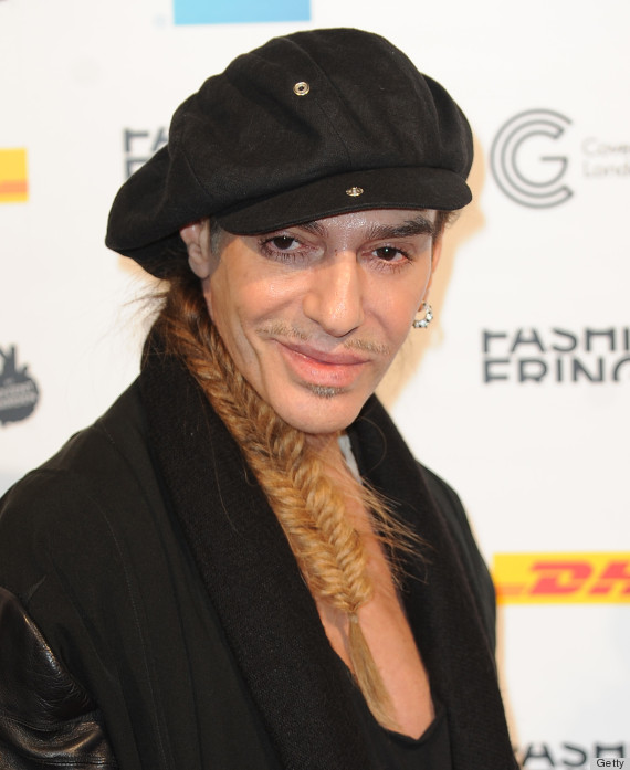 most hated people in fashion John Galliano