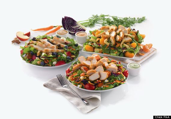 chick fil a salads