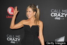 Jennifer Aniston Gets (Very) Shorty At Call Me Crazy Premiere