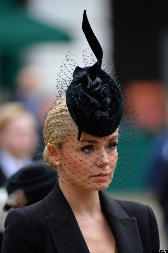 katherine jenkins margaret thatcher funeral