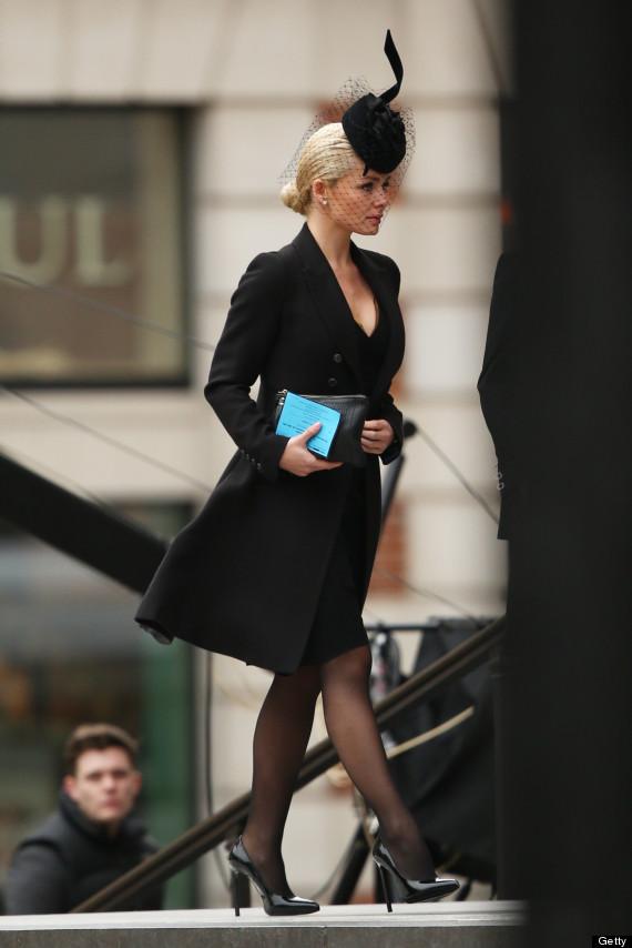 Margaret Thatcher Funeral: Katherine Jenkins Leads Celebrity ...
