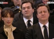 Margaret Thatcher Funeral: George Osborne Wipes Away Tear During Service (PICTURES)