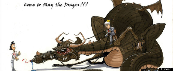 justin trudeau dragon slayer