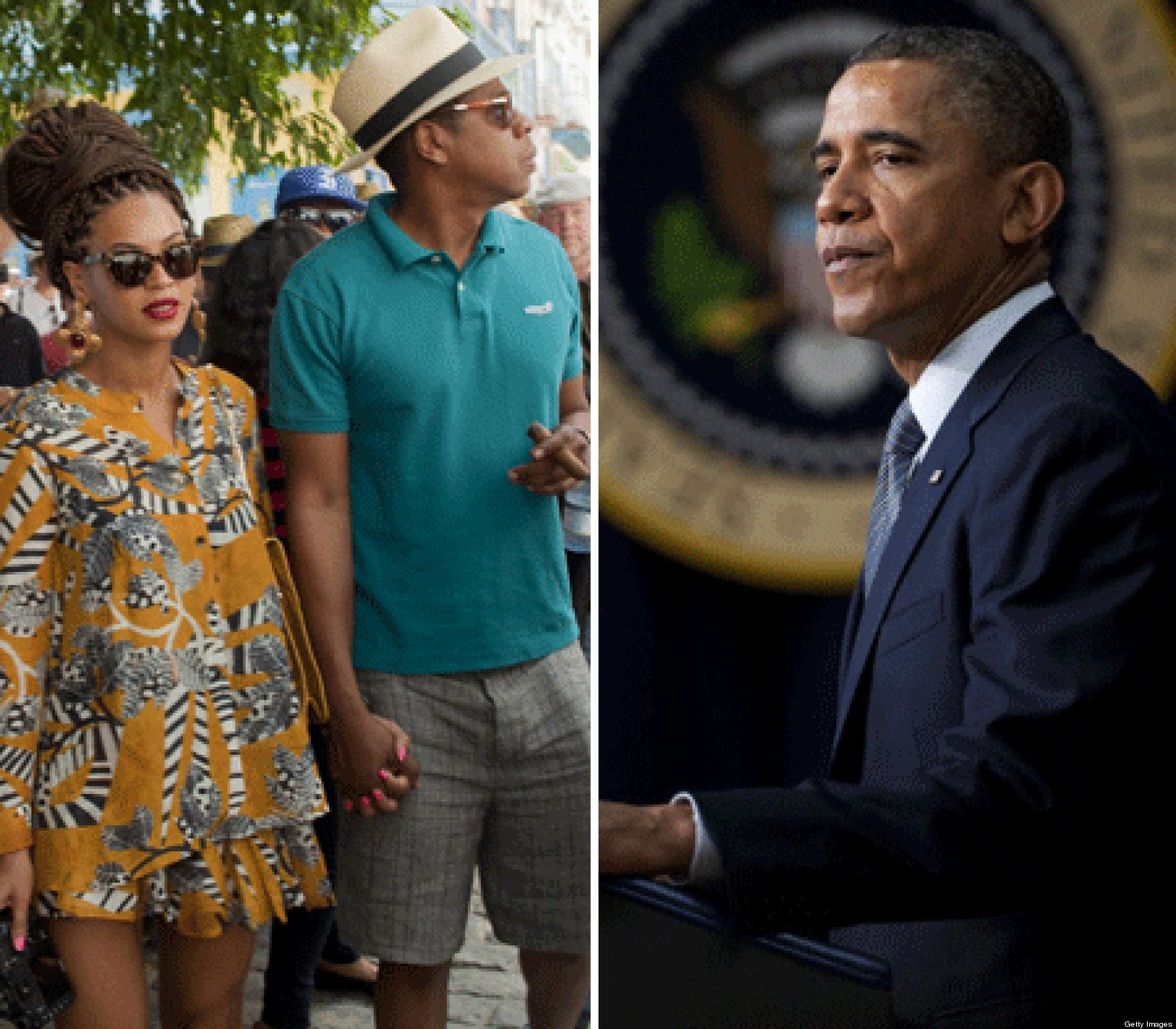 Obama 'Got Better Things To Do' Besides Worry About Hov & Bey