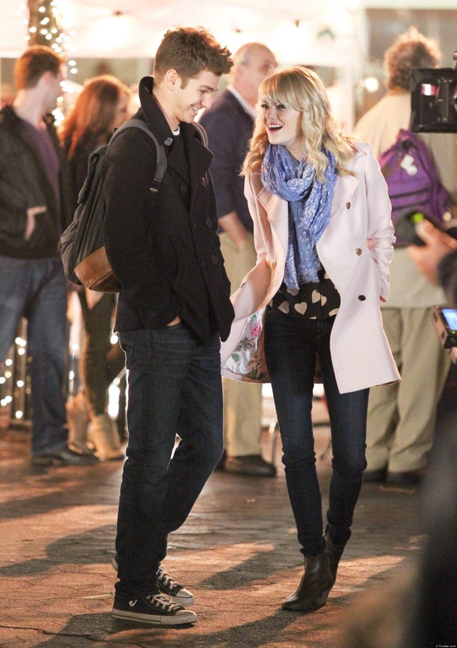 Emma Stone And Andrew Garfield Are Too Cute To Handle (PHOTO ...