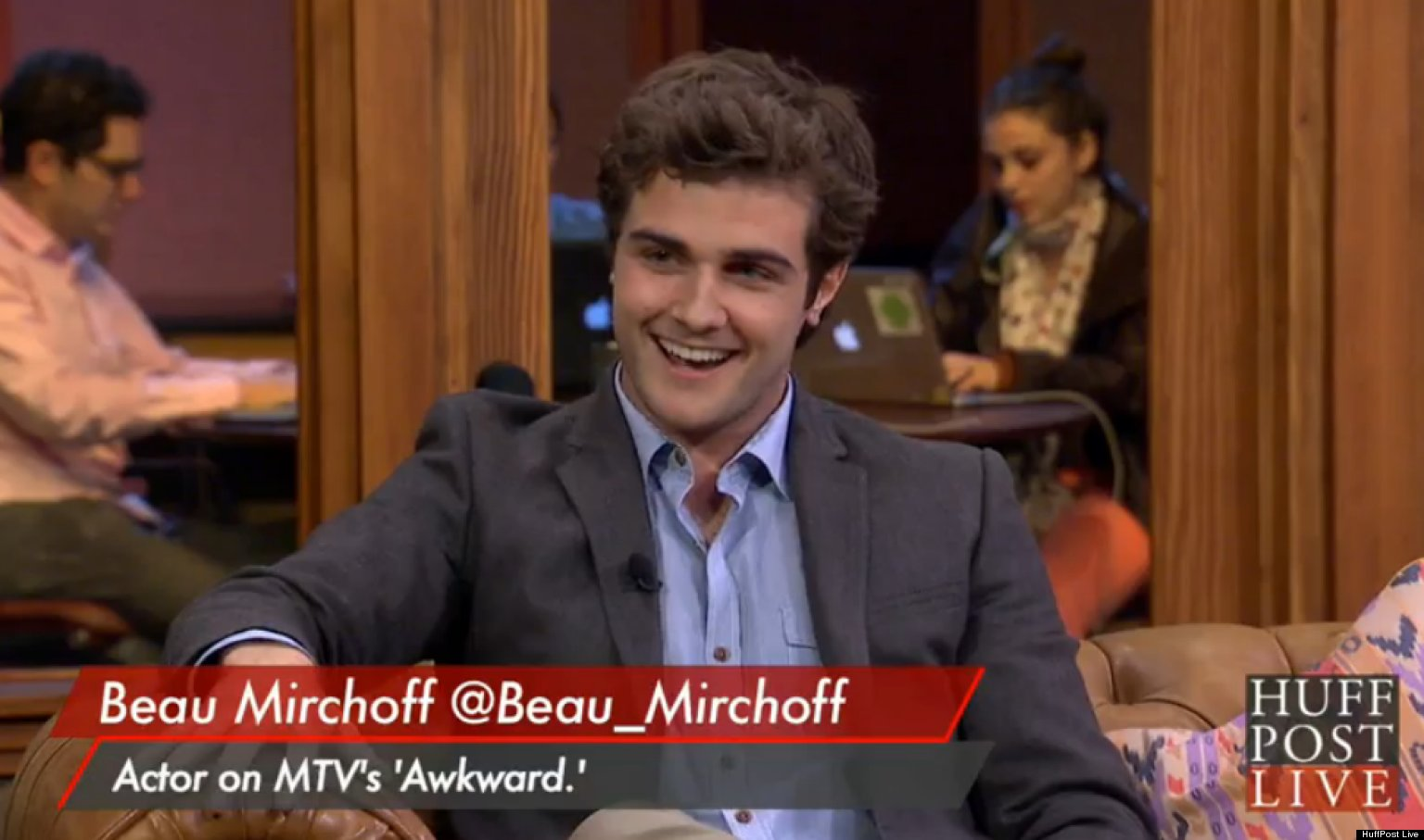 Awkward beau mirchoff girlfriend