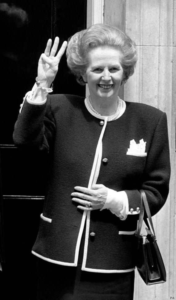 Margaret Thatcher Handbag