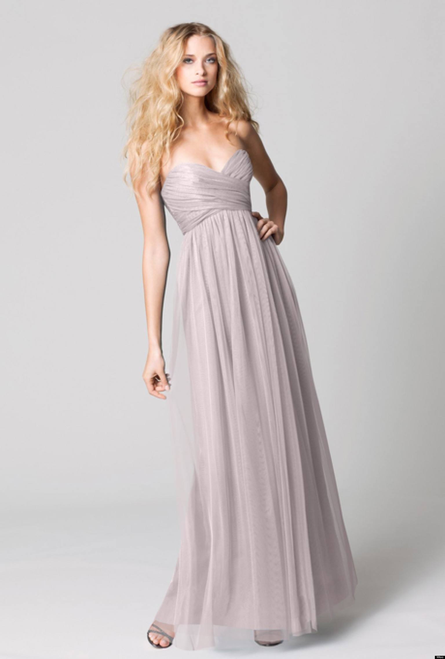 15 must see pastel bridesmaids dresses brides for Pastel colored wedding dresses