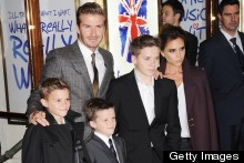 Bonne Anniversaire! The Beckham Family Jet To Paris For Victoria's Birthday