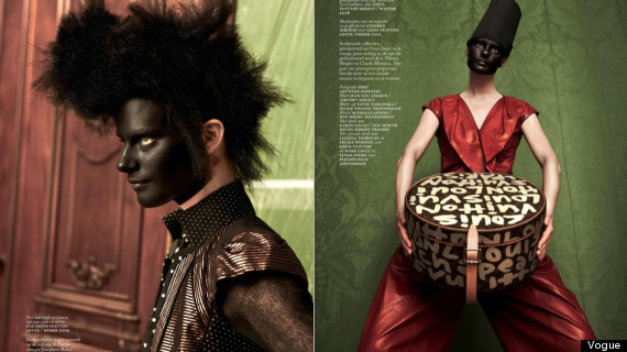 vogue blackface controversy