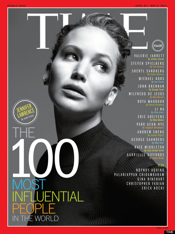 time most influential celebrities 2013