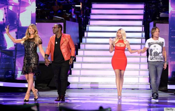 Girl on fire! Nicki Minaj's dress on American Idol episode burns up Twitter (LOOK, WATCH)