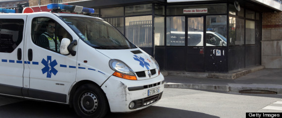 FRENCH CANCER PATIENT SAVES AMBULANCE DRIVER