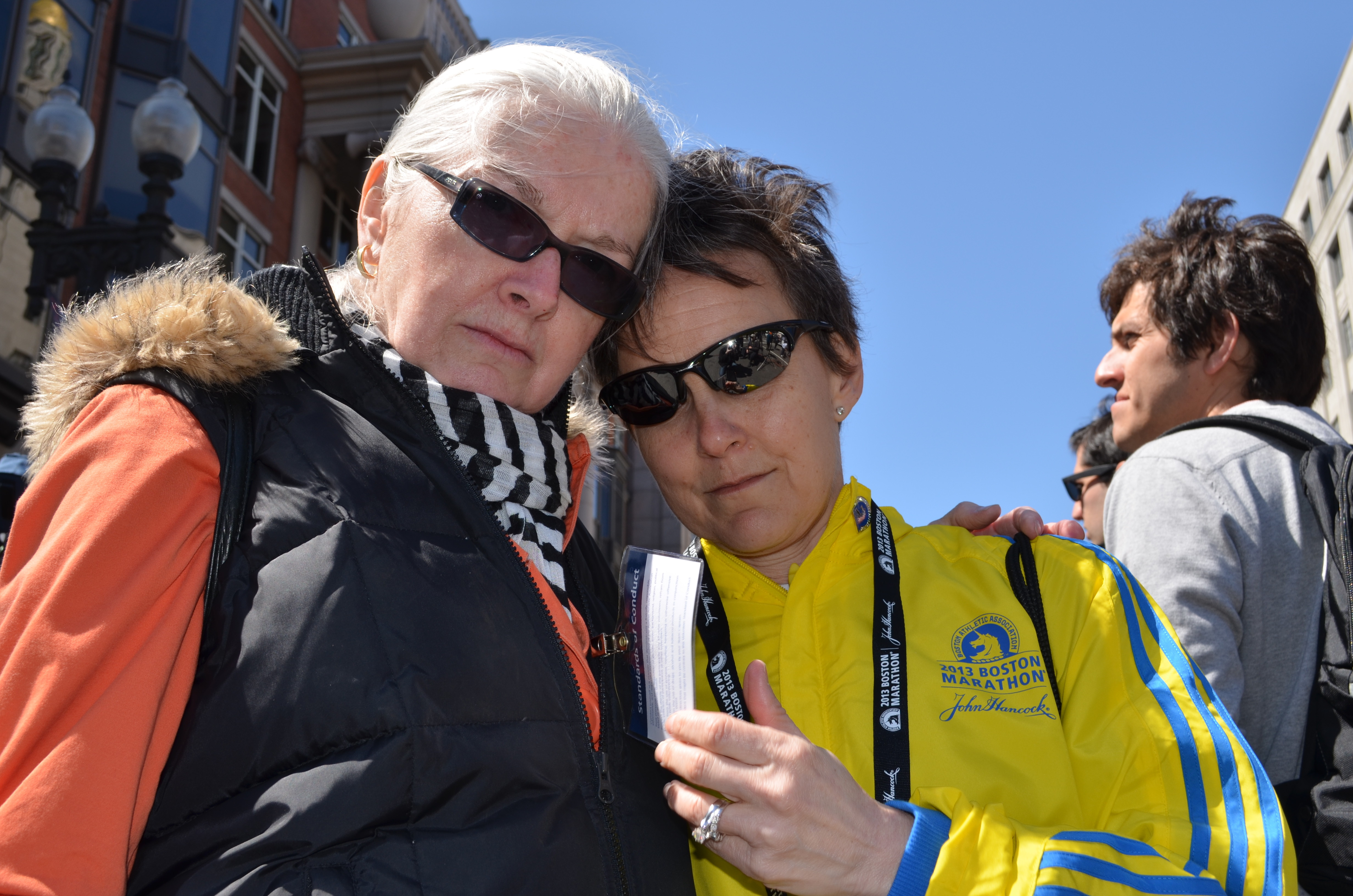 boston marathon runners pat cohen and kim stemple